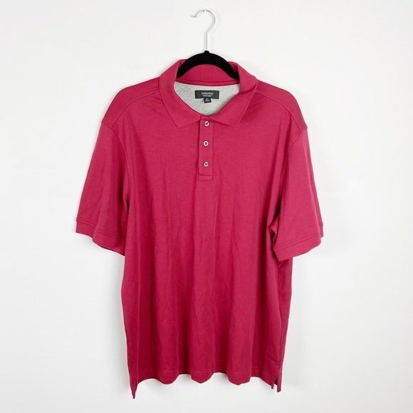 Nordstrom Short Sleeve Collared Polo Shirt NWOT